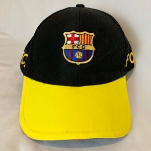 Authentic Barca FC Soccer embroidered ball cap